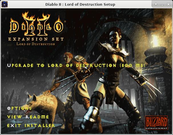 FooSoft Productions - Installing Diablo II on Linux